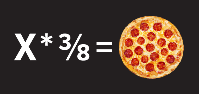 how many pizzas should you order the pizza equation will tell you