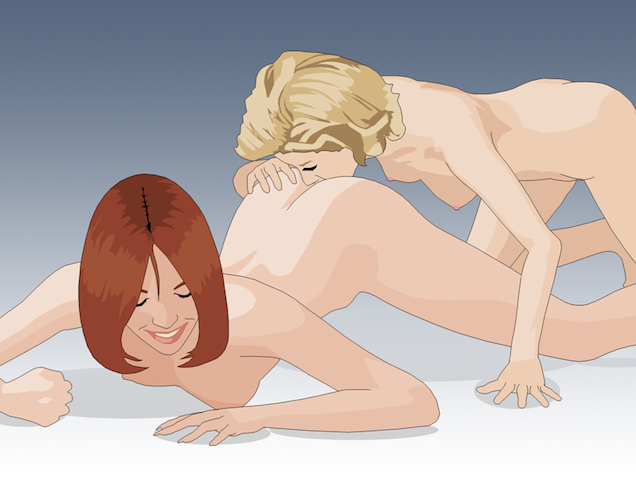 Anal sex illustration #12