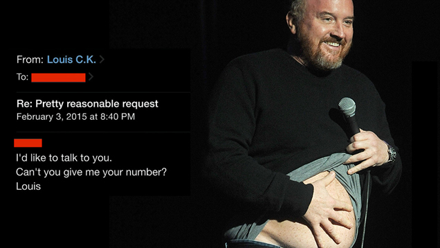 Louis ck sexual harrasment