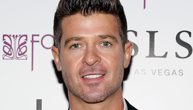 robin thicke blurred lines перевод
