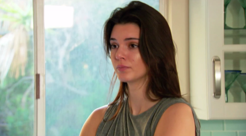Image result for kendall jenner crying