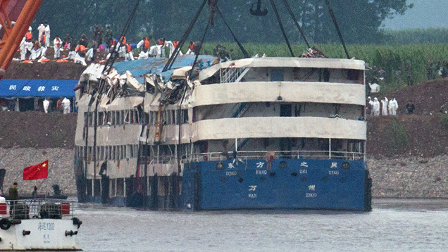 Death Toll For Capsized Chinese Cruise Ship Jumps To Over - Chinese cruise ship