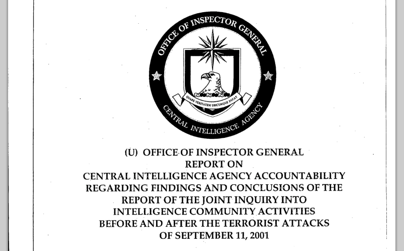 Here's the CIA's Just-Released Top Secret File on Saudi Ties to 9/11