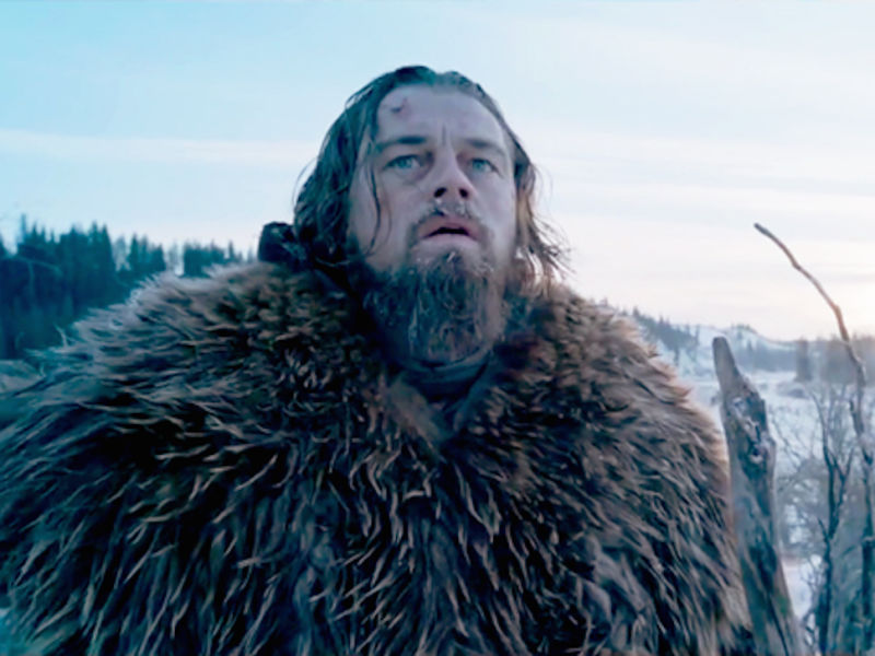 Leonardo DiCaprio Makes a Lot of Grunty Noises in His New ... Leonardo Dicaprio Movies