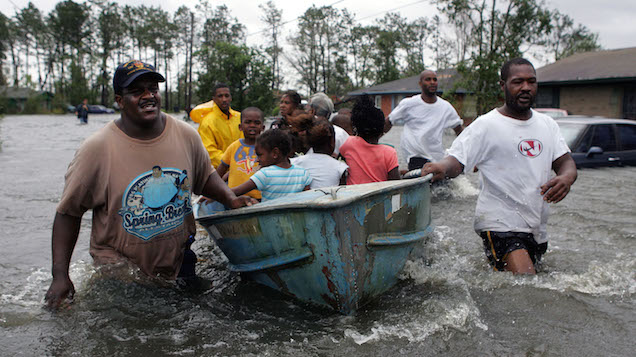 International response to Hurricane Katrina