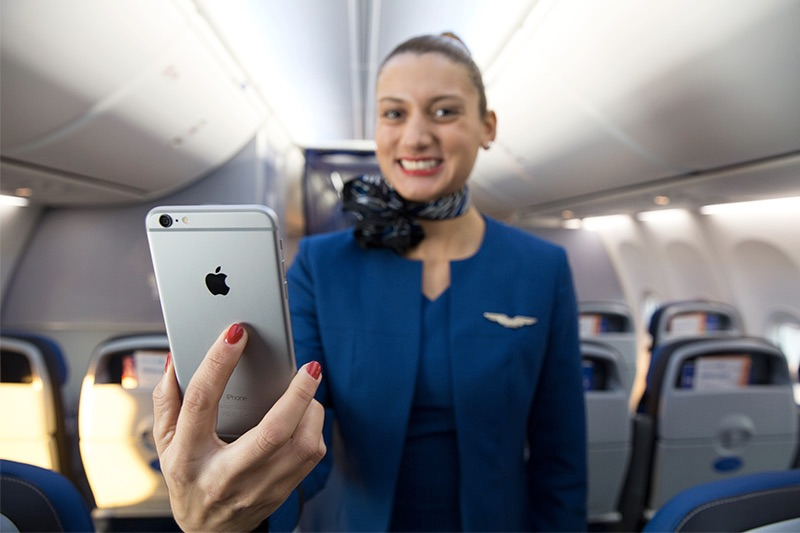 What Do You Know About United's Allegedly Creepy New App for Flight Attendants?