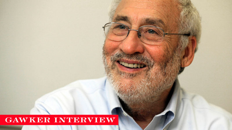 Joe Stiglitz Knows How to Solve Inequality, if Anyone Will Listen