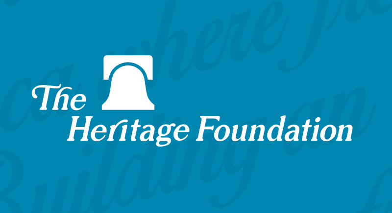 the heritage foundation essay In a new report, heritage's robert rector and rachel sheffield lay out what the us government's own facts and figures really say about poverty in the united states the results might surprise you, especially if your view of poverty is the conventional one, perpetuated by the media-namely, destitute conditions of homelessness and hunger.