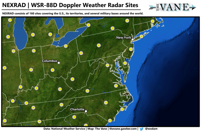 US Senator Introduces Bill to Build Weather Radars for the