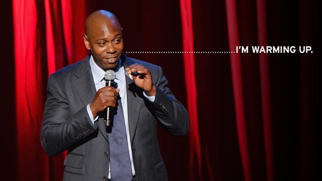 Dave Chappelle Is Back. Well, Maybe.