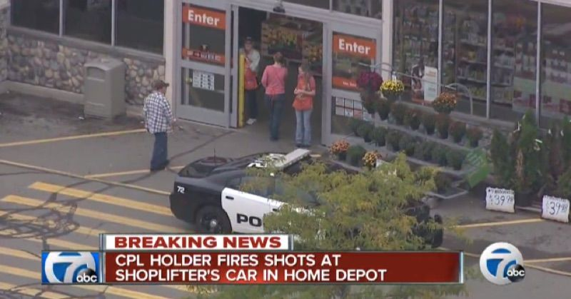 Woman With Concealed Carry License Shoots At Home Depot Shoplifters May Not Face Charges