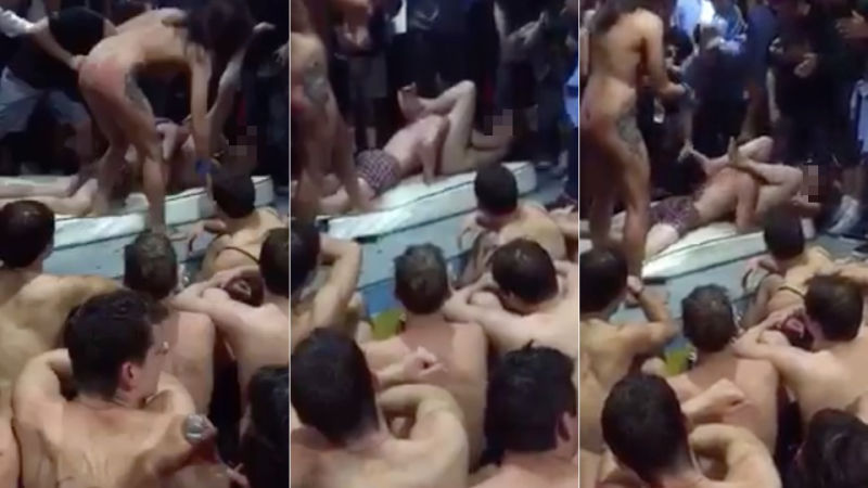 sorority initiation porn