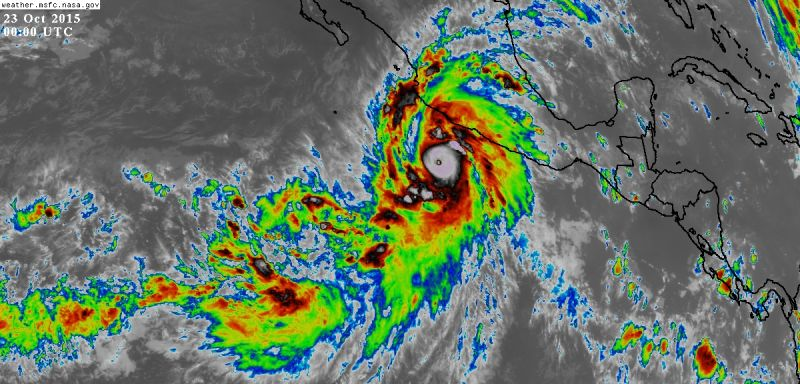 Mexicos West Coast in Grave Danger as Potentially Catastrophic