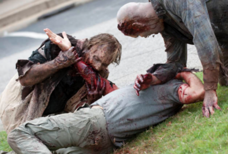 police binge drinking walking dead fan beat his zombie friend to death with an electric guitar. Black Bedroom Furniture Sets. Home Design Ideas