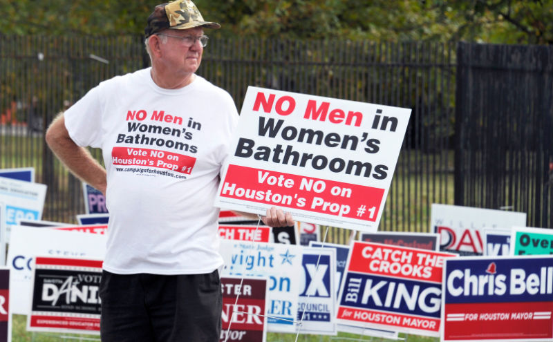 Gay and Transgender Nondiscrimination Ordinance Rejected by Voters in Houston