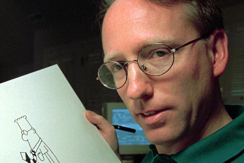 Dilbert creator Scott Adams gets Trump like no one else.