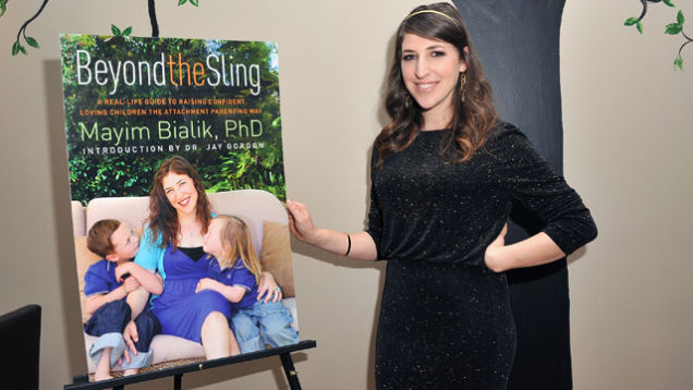 Image result for mayim bialik breastfeeding