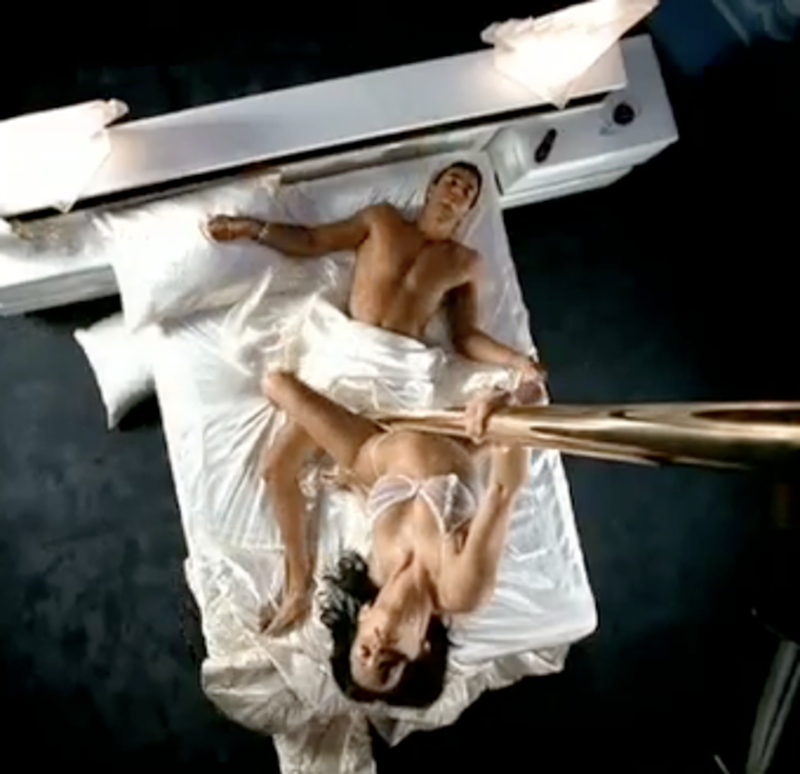 Banned music video for nudity uncensored version