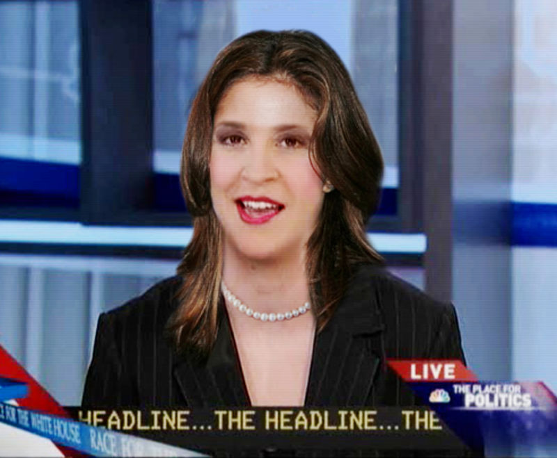 Dyke Icon Rachel Maddow After The Makeover
