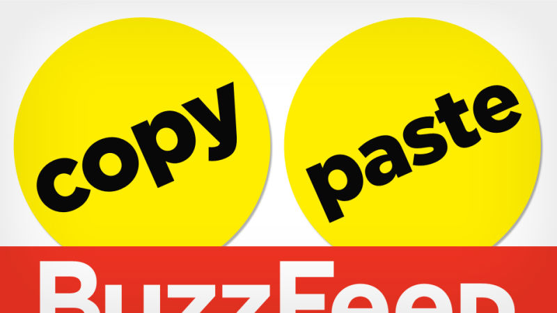 Remix everything buzzfeed and the plagiarism problem reheart Gallery