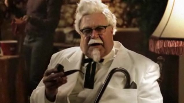Kfc Guy Funny: John Goodman Stars As Colonel Sanders In A Pro-Gay Ad For KFC