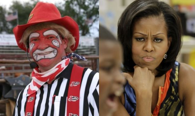 Rodeo Clown Tells Spectators Horribly Racist Michelle