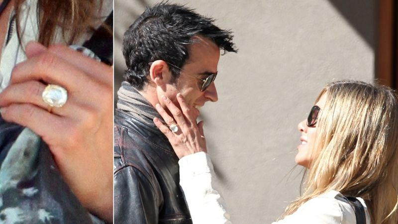 your giant engagement ring looks fucking stupid jennifer aniston - Jennifer Aniston Wedding Ring