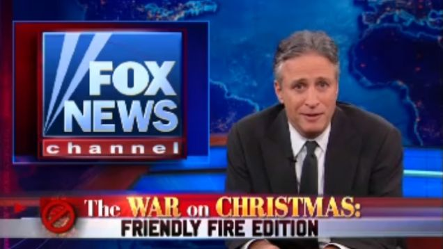 the only thing more predictable than the annual war on christmas outcry at fox news is the daily shows annual response to the annual war on christmas - The War On Christmas