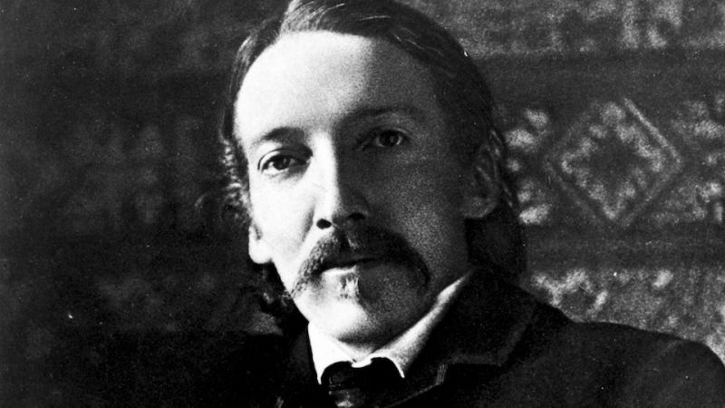 newly discovered robert louis stevenson essay shows he was a grump