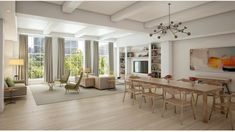 Charmant Hereu0027s What Chelsea Clintonu0027s $10.3 Million Apartment Looks Like