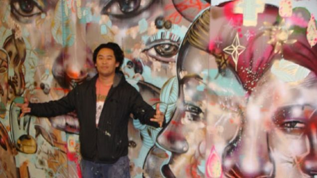 David choe just made 200 million for painting facebook for David choe mural