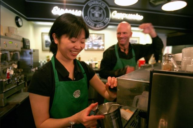Earlier this week  New Yorkers were shaken and alarmed by a report that Starbucks could be closing some of its restrooms in the city  leaving us all with. Maybe Starbucks Will Have Bathroom Attendants Soon