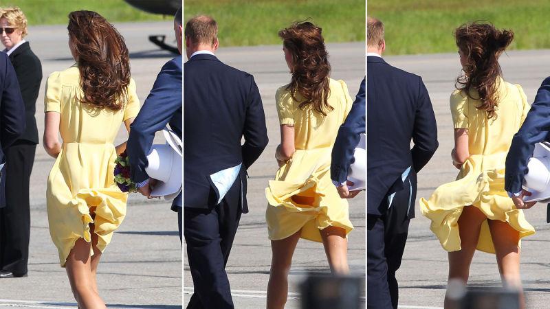 Princess Kate Wardrobe Malfunction