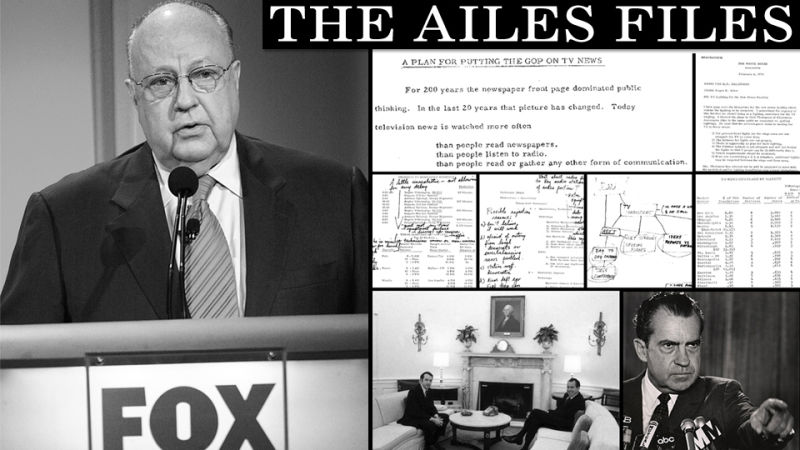 Roger ailes secret nixon era blueprint for fox news malvernweather Images