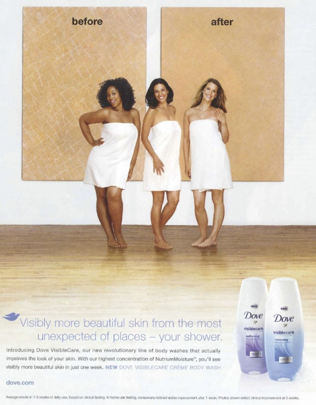 The Black Model in Dove's Recent Campaign Speaks Out