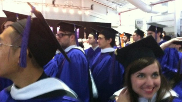 Progressive Snapshot Hack >> Here's James Franco Graduating From One of His Many Colleges