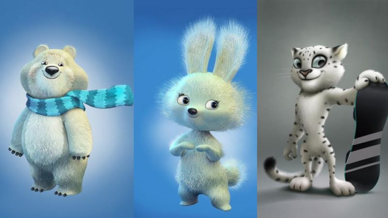 2014 Winter Olympics Mascots: Sochi Official | Vostok-Zapad |Winter Olympics 2014 Mascot Names