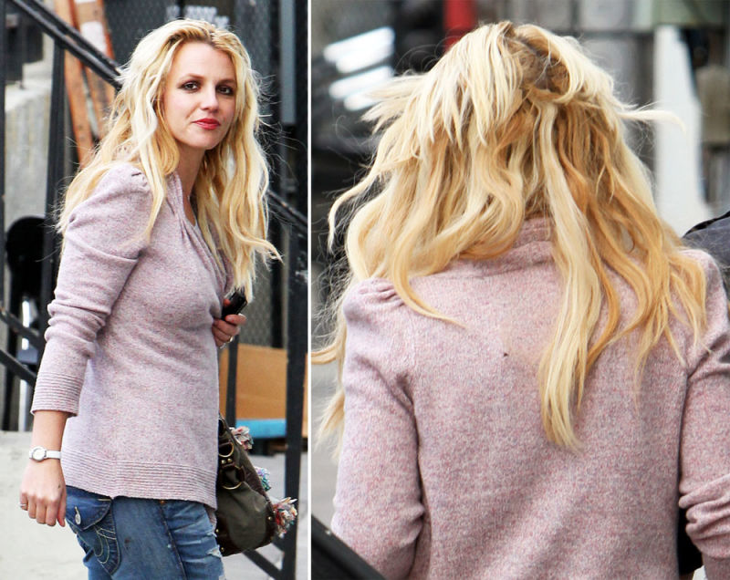 Every Time Britney Spears Turns Around A Hairdresser Screams In Terror
