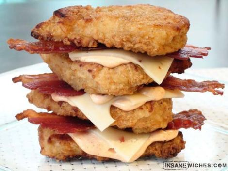 Kfc Double Down Calories