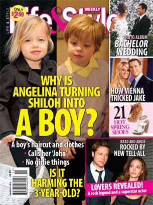 Can We Stop Calling Shiloh Jolie-Pitt a Lesbian?