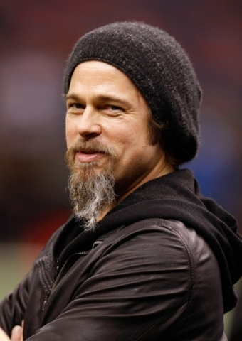 Brad Pitt's Beard Makes a Surprise Appearance at Chateau ...