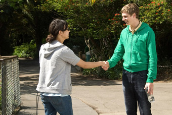 are charlyne yi and michael cera dating in real life