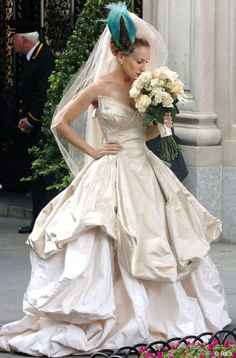 Sad NYC Ladies Will Pay $15,000 For Carrie\'s Bad-Luck Wedding Gown