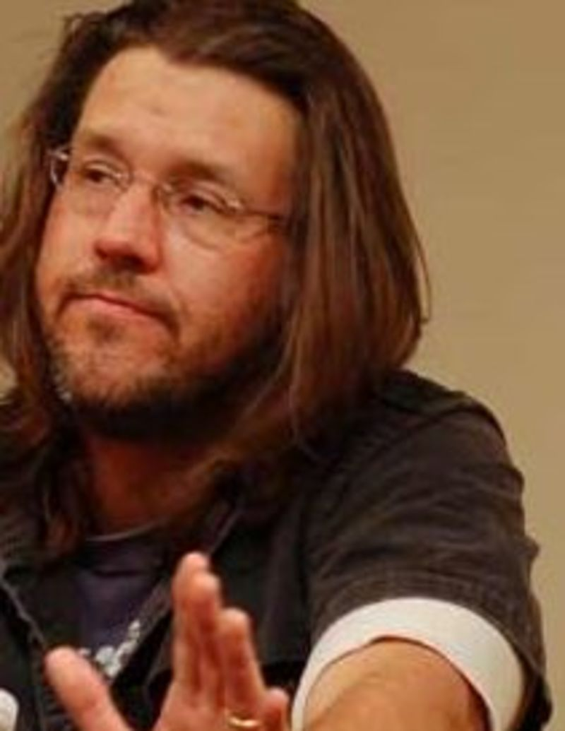 david foster wallace radio essay Wallace jumps from formal descriptions and considerations of the english language to joking side comments about those who focus on the specifics of the langua.