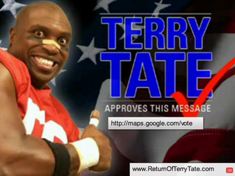 reebok advertising and terry tate Terry tate: office linebacker was a series of short comedy television commercials created by rawson marshall thurber , for reebok , based on a short film pilot he created in 2000 tate was first shown at super bowl xxxvii in 2003.