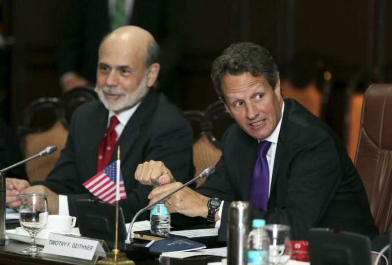 Bloomberg Reporters Spied on Ben Bernanke and Tim Geithner