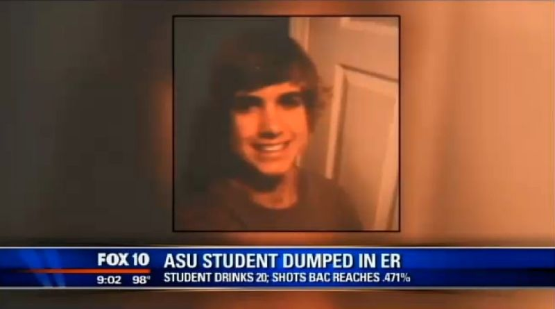 Unconscious Student with Near-Lethal BAC Left Outside ER by Frat Bros