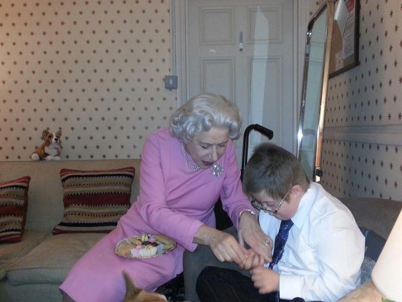 Helen Mirren Has Tea with Dying Boy After Actual Queen Says No