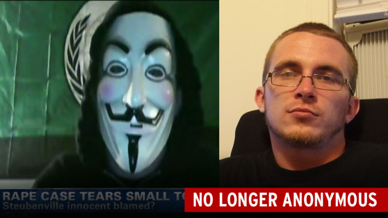 The FBI Raided Steubenville Anonymous Guy's House. Here He Is.