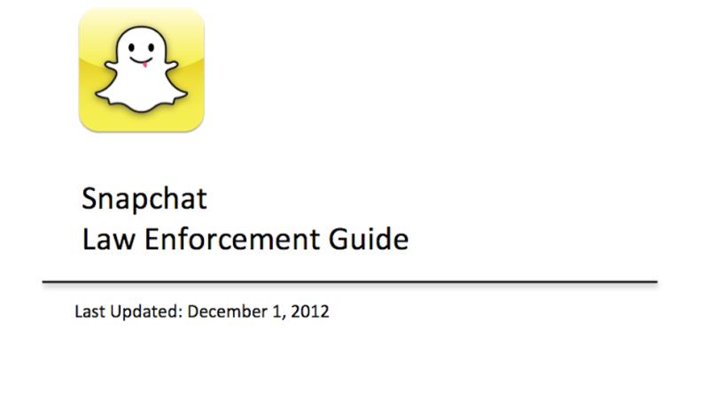 Are snapchats monitored